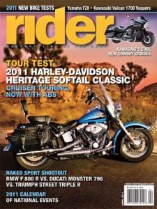 Rider April 2011